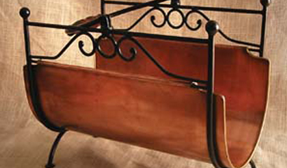Base Metal-Magazine racks